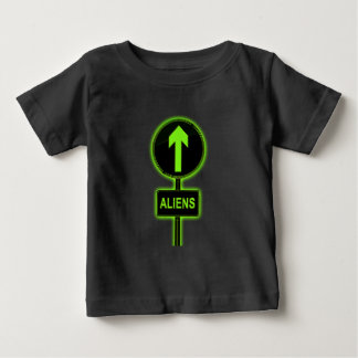 Aliens concept. baby T-Shirt