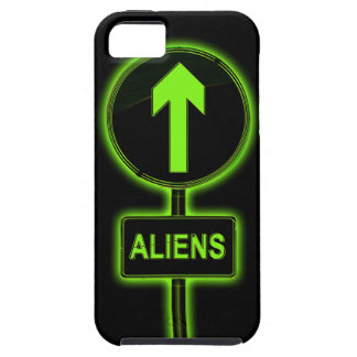 Aliens concept. case for the iPhone 5