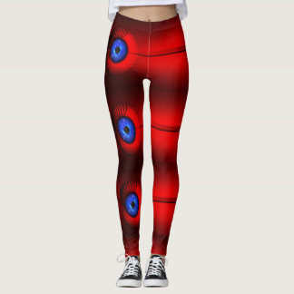 Aliens eyes leggings