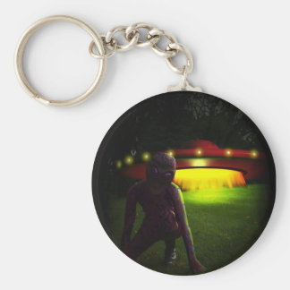 Aliens Have Landed Keychain