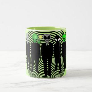 aliens in black mug