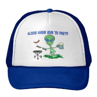 Aliens Party Cap