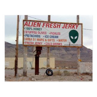 Aliens! Postcard