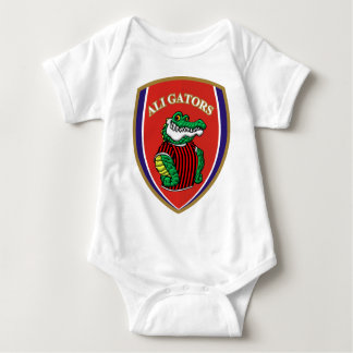 Aligator Baby Bodysuit