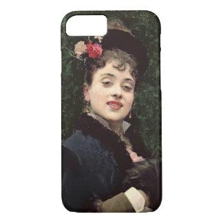 Aline Masson, the Artist's Model (oil on panel) iPhone 7 Case