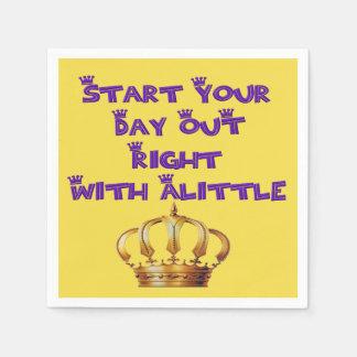 Alittle Crown Paper Napkin