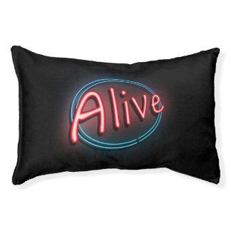 Alive concept. pet bed