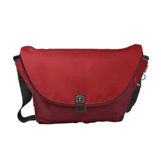 Alizarin Crimson Messenger Bag