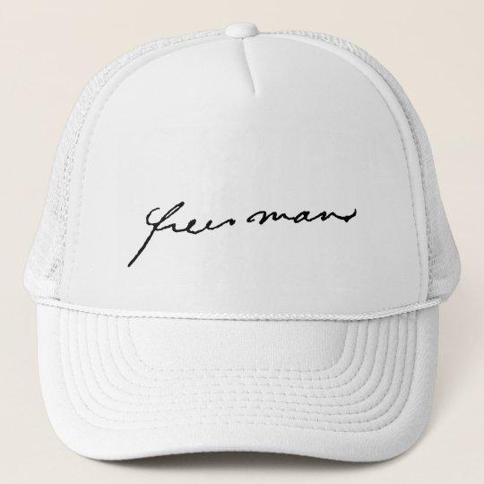 ALKEBULAN - free man Trucker Hat