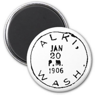 Alki Ghostmark 6 Cm Round Magnet