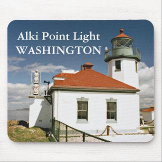 Alki Point Light, Washington Mousepad