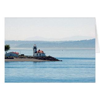 Alki Point Lighthouse Card