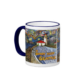 Alki Point Lighthouse Coffee Mug