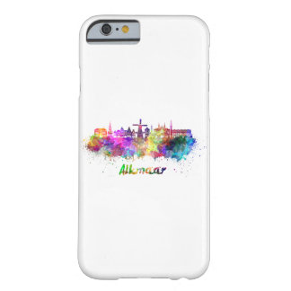 Alkmaar skyline in watercolor barely there iPhone 6 case