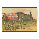 All Aboard ! The Easter Train ! Greeting Card