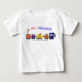 All Aboard The Fun Train! Baby T-Shirt
