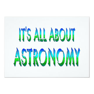 All About Astronomy Announcement