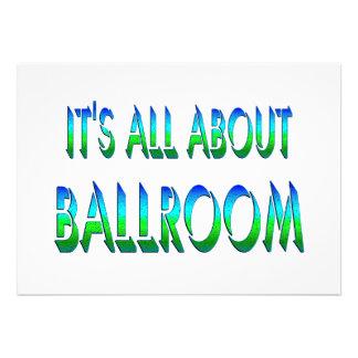 All About Ballroom Invite