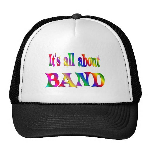 All About Band Trucker Hats