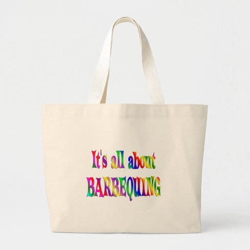 All About Barbequing Tote Bag