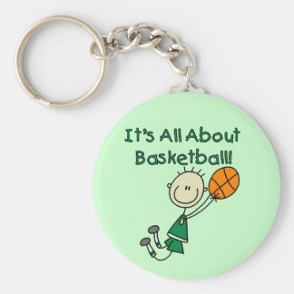 All About Basketball Tshirts and Gifts Keychains
