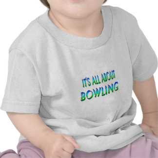 All About Bowling Tshirts