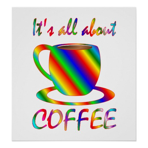 All About Coffee Print