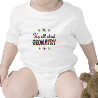 ALL ABOUT GEOMETRY BABY BODYSUITS