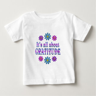 ALL ABOUT GRATITUDE BABY T-Shirt
