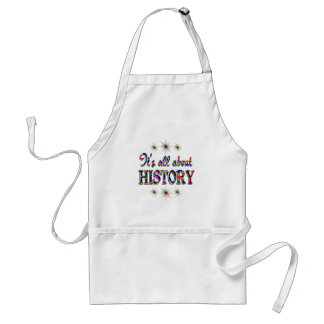 ALL ABOUT HISTORY APRONS