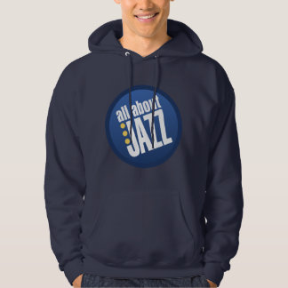 All About Jazz Basic Hooded Sweatshirt