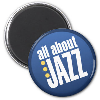 All About Jazz Magnet