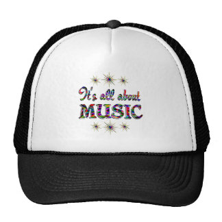 ALL ABOUT MUSIC TRUCKER HATS