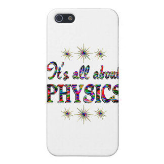 ALL ABOUT PHYSICS iPhone 5 COVER