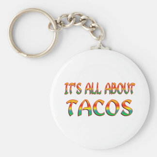 All About Tacos Keychains