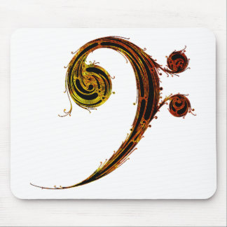 All About That Bass - Bass Clef Mousepad