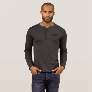 All About That Coffee And Champagne Life Henley T-Shirt