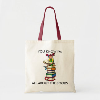 All About the Books Tote Bag
