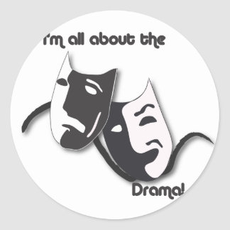 All About the Drama Stickers