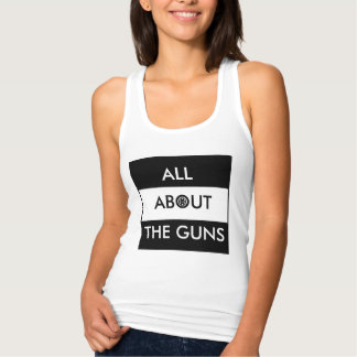 ALL ABOUT THE GUNS SINGLET