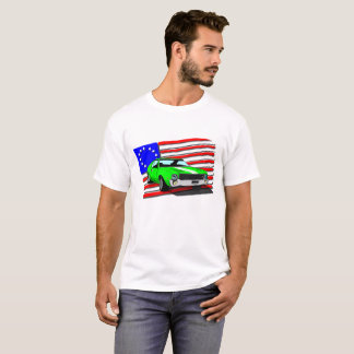 All American AMX and Flag T-Shirt
