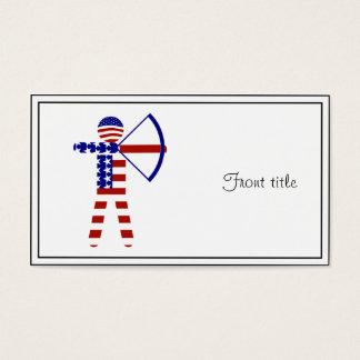 All-American Archer / Archery Business Card