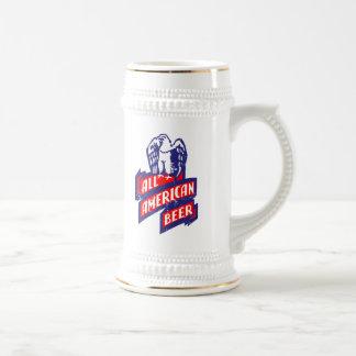 All American Beer Beer Stein
