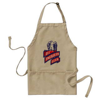 All American Beer Standard Apron