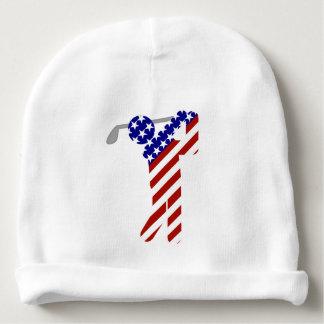 All American Golfer - Mens Golf Baby Beanie