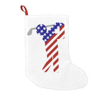 All American Golfer - Mens Golf Small Christmas Stocking