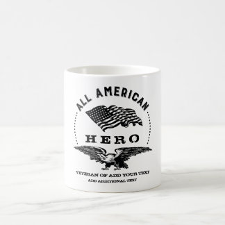 All American Hero Veteran Coffee Mug