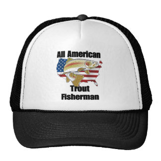 All American Trout Fisherman Cap