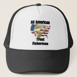 All American Trout Fisherman Trucker Hat