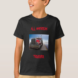 All American Trucker Tshirt